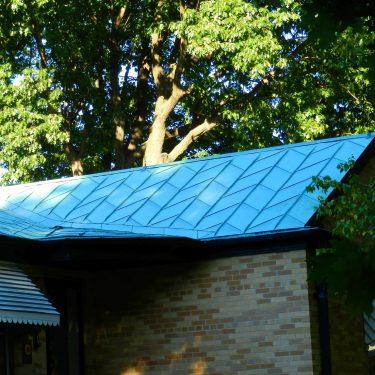 mid century roof