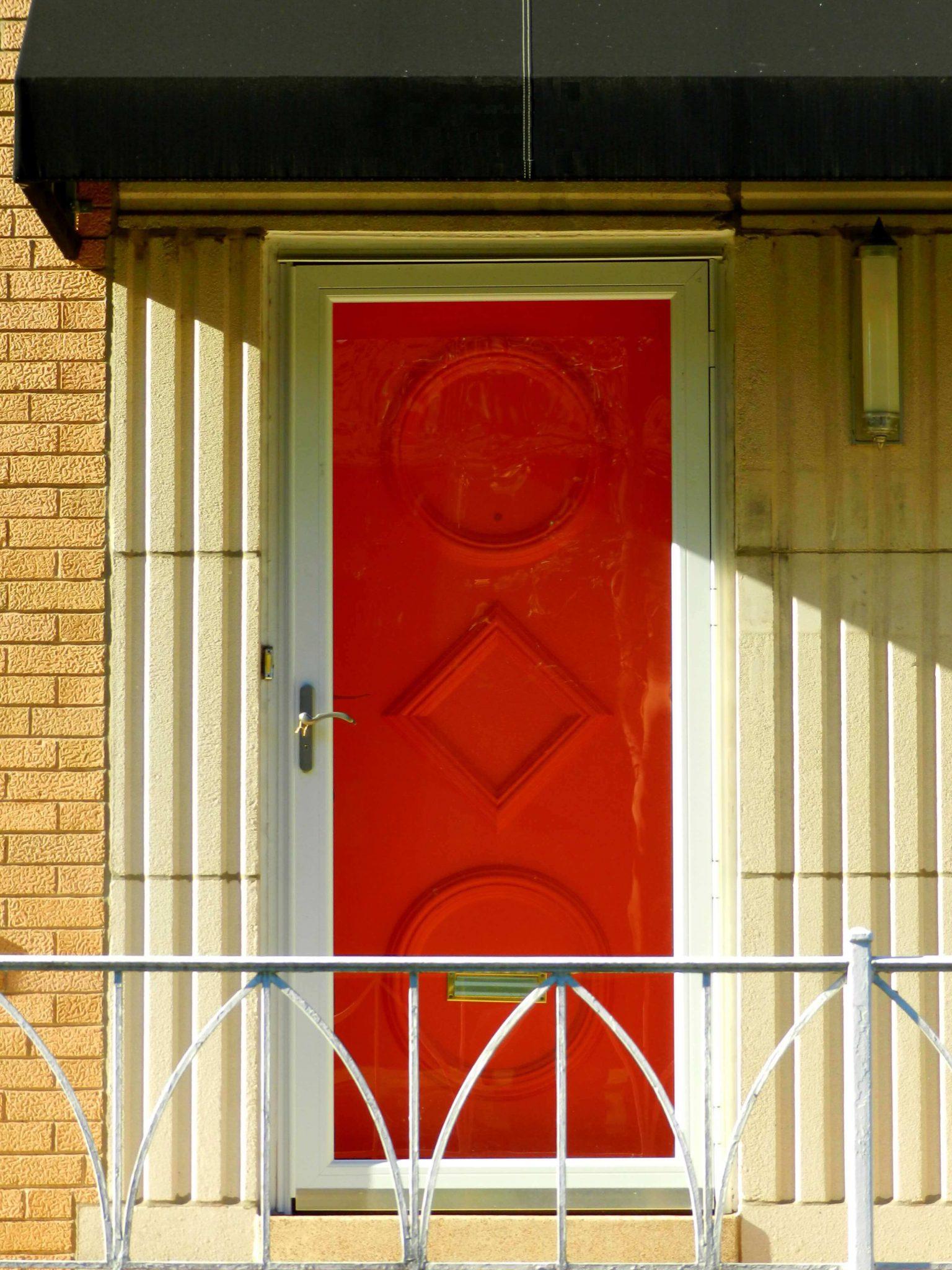 Red-Door-Detail