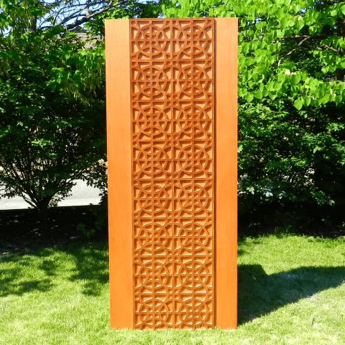 mid century exterior doors