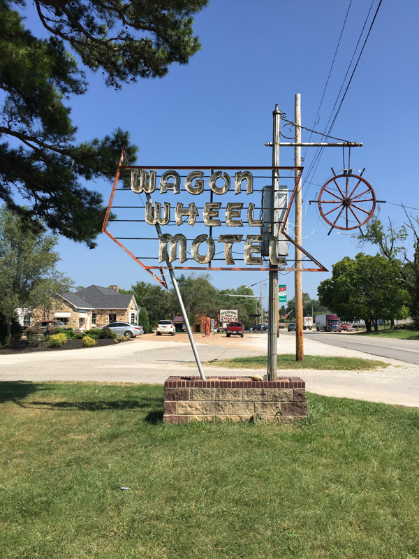 Original Wagon Wheel neon.