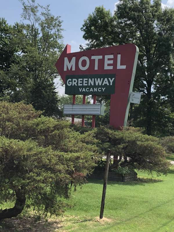 Greenway Motel, now apartments.
