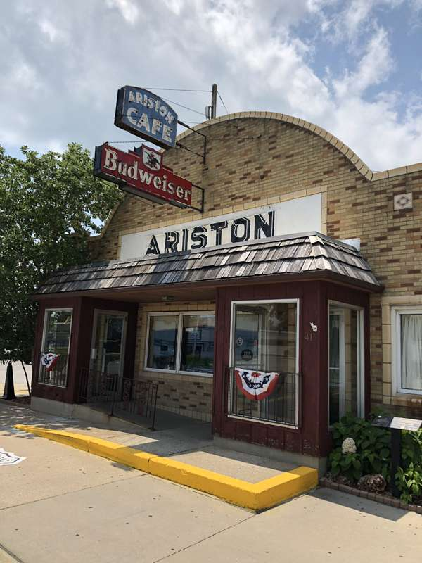 The Ariston Cafe in Litchfield, Illinois.