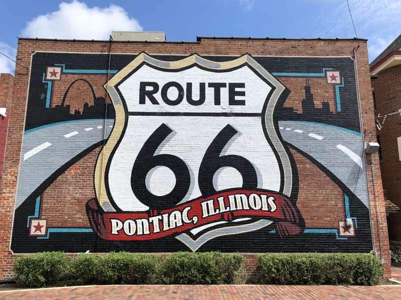 Pontiac, Illinois mural.
