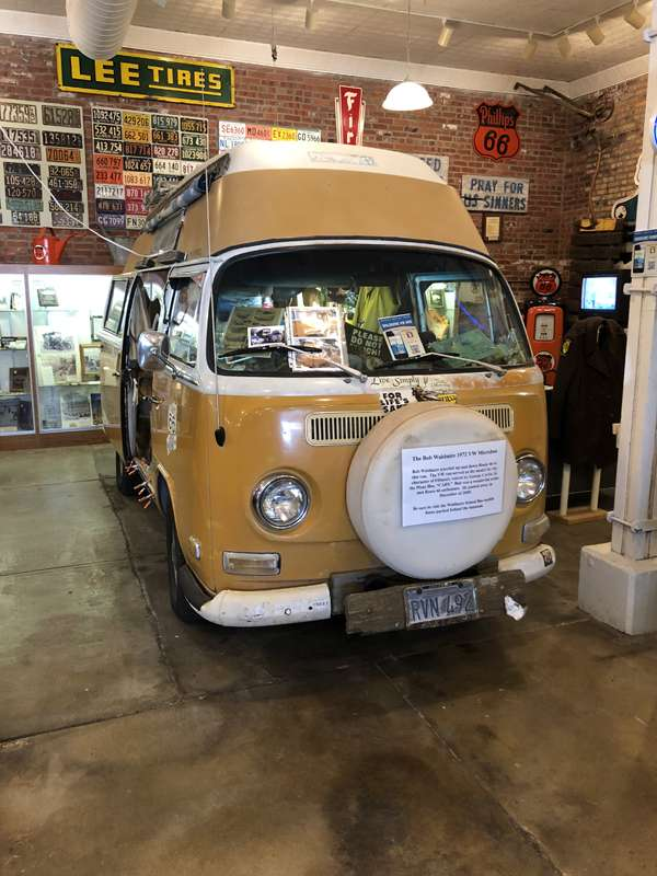 Bob Waldmire's VW van - the inspiration for the Pixar Cars character Fillmore.