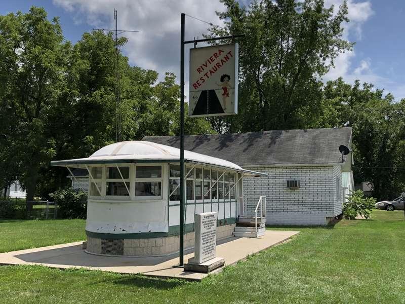 Gardner's streetcar diner.