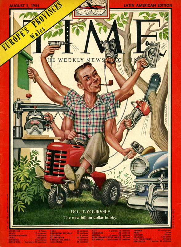 Copyright Time Magazine, 1954