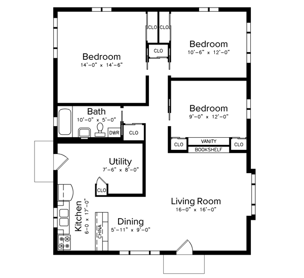 Westchester Three-Bedroom