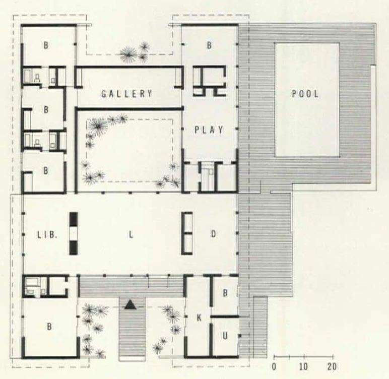 Floor plan of the Woehle family home. (8)