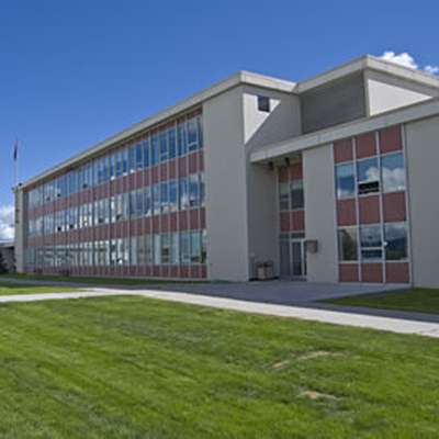 The Bunnell Building at the University of Alaska, Fairbanks. (9)