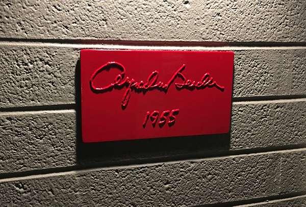 Al Beadle registry plaque. (17)