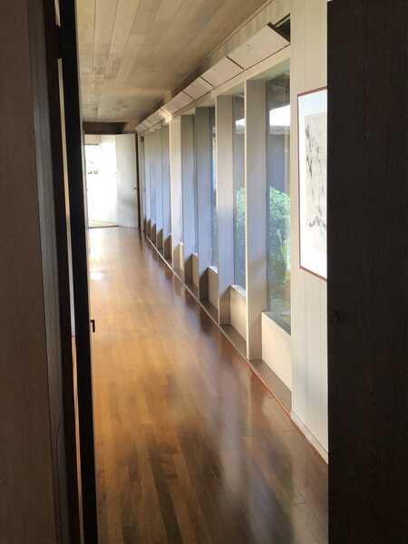 West corridor to bedrooms