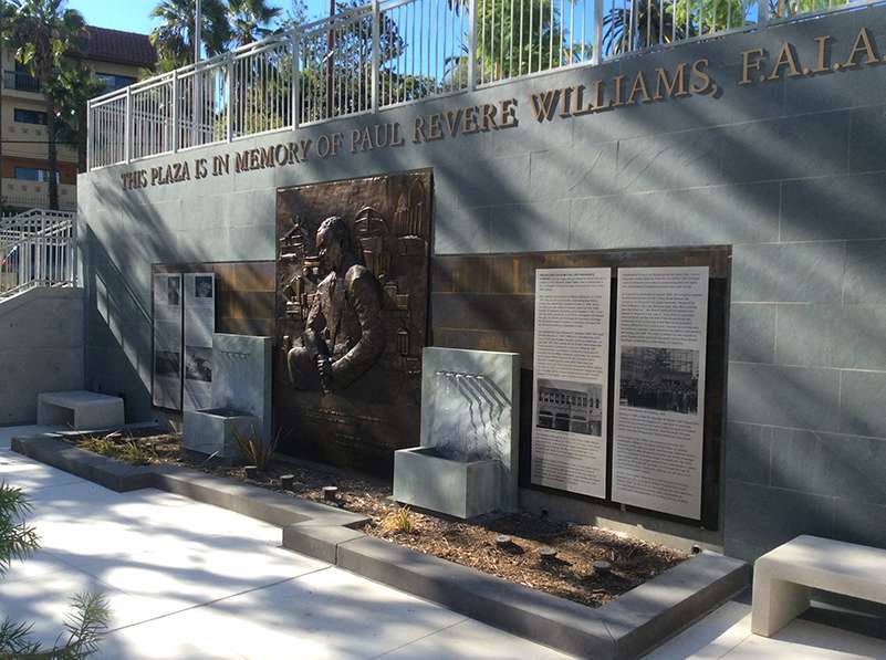 Paul R. Williams memorial at the SCLARC