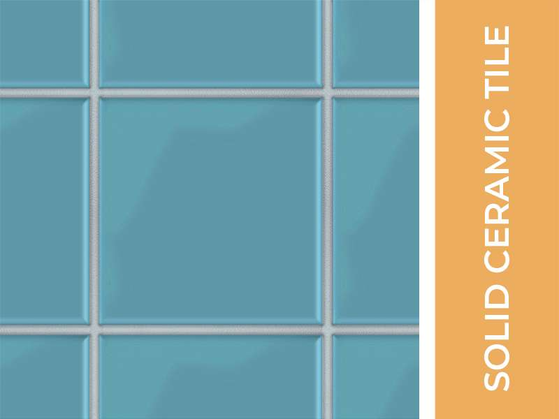 Solid Ceramic Tile 03